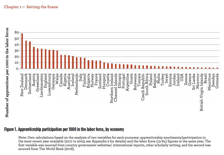 Apprenticeship in 8 Countries – Australia, Denmark, Egypt